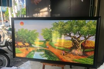 Gợi ý địa chỉ mua tranh phong cảnh quê hương chất lượng, giá hợp lý - In Nam Định