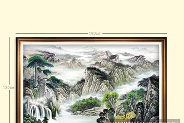 Thảo luận, tranh thủy mặc là gì, ý nghĩa treo tranh thủy mặc trong trang trí hiện nay