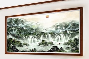 Top Tranh Treo Phòng Khách Theo Phong Thủy Ý Nghĩa, Chất Lượng