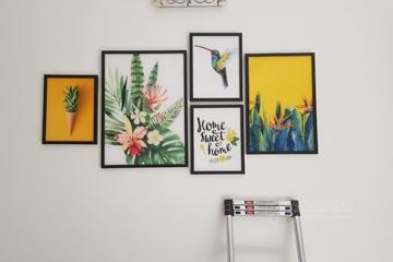 Tranh Canvas - Xu Hướng Trang Trí Nhà Hiện Đại