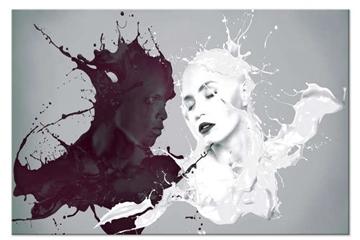 Vẻ đẹp sau sự tối giản của tranh nghệ thuật trắng đen