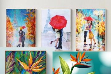Xem ngay, tranh hoa Thiên Điểu món quà ý nghĩa đặc biệt trao tặng nửa yêu thương 20-10 sắp tới