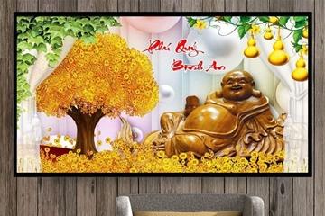 Tranh hoa mai innamdinh.vn – Mang phú qúy, tài lộc cho gia chủ đón xuân canh tý sum vầy