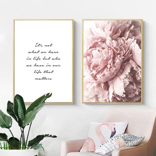 Hoa và chữ