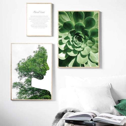 Thiên nhiên cây lá nghệ thuật