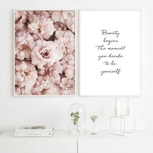 Tranh hoa và chữ