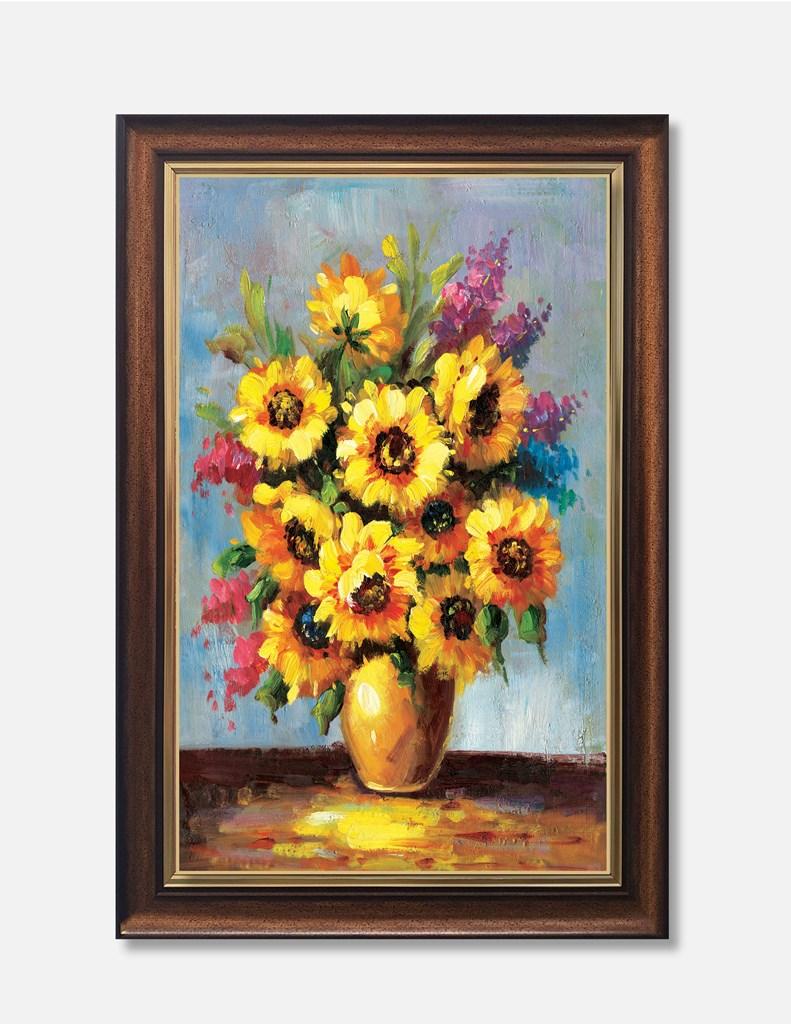 Tranh lọ hoa sơn dầu trang trí đẹp