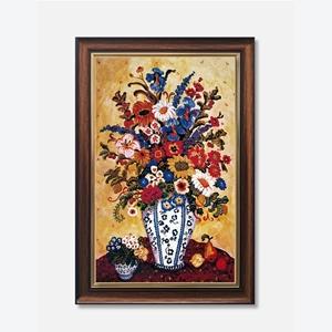 Tranh lọ hoa, sắc màu tươi mới