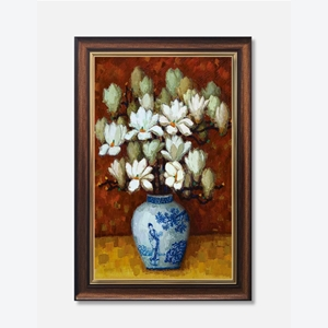 Tranh lọ hoa mộc lan
