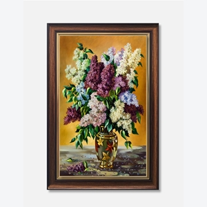 Tranh lọ hoa, bông lau ấn tượng