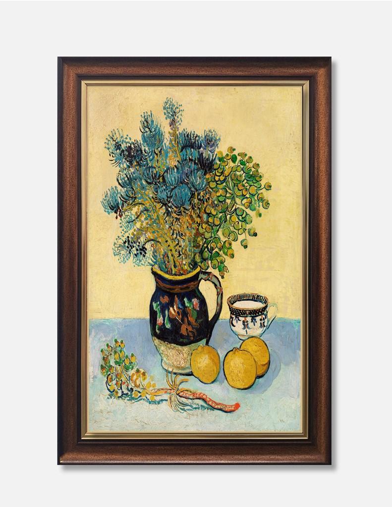 Tranh lọ hoa sơn dầu ấn tượng