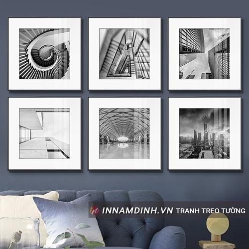 Set 6 ảnh nghệ thuật BW