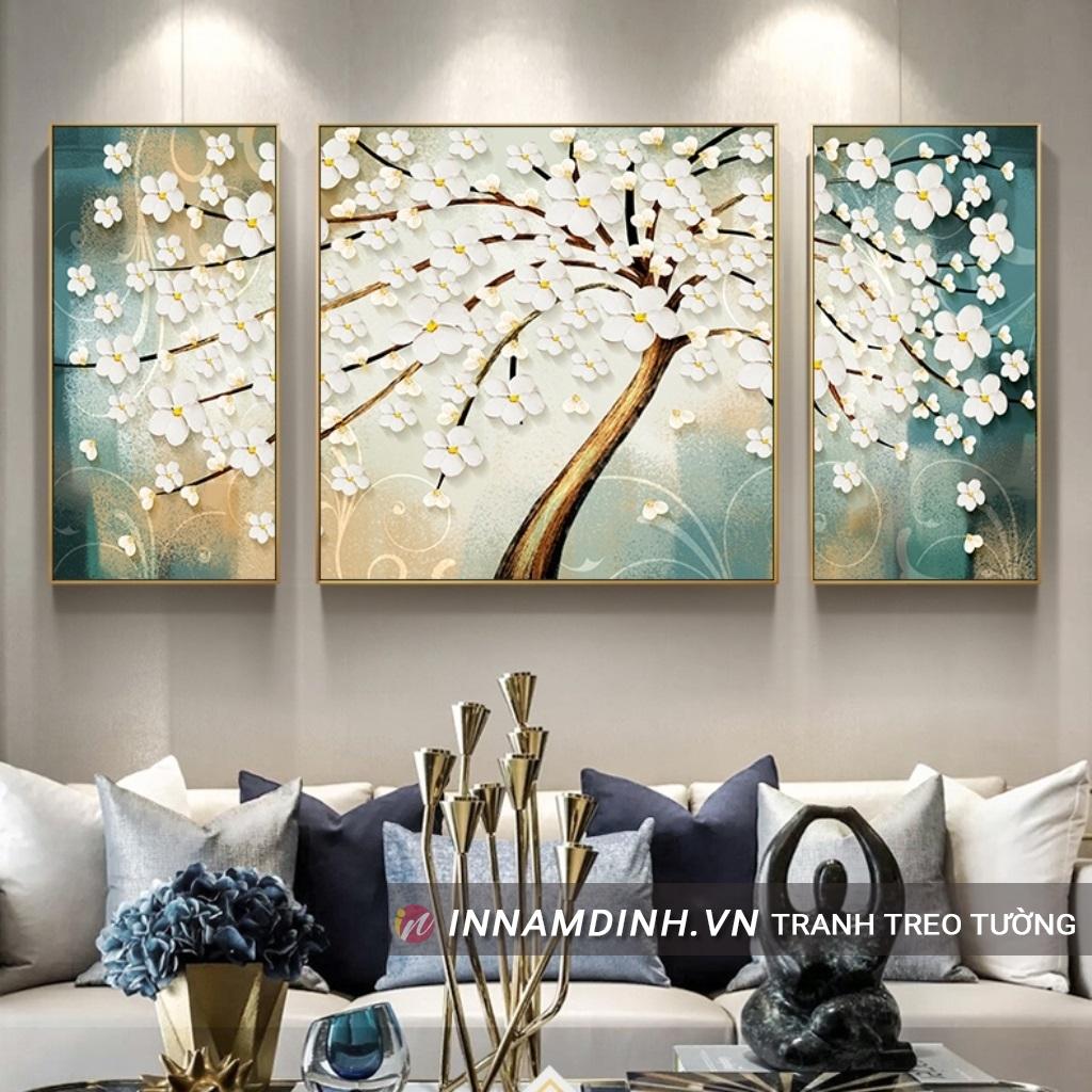 Bộ tranh cây hoa đẹp