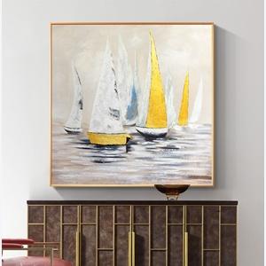 Tranh thuận buồm xuôi gió, trang trí tường