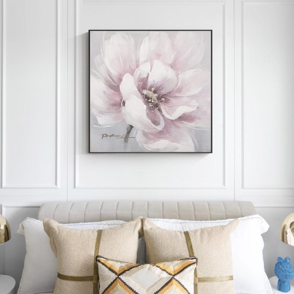 Tranh treo tường, bông hoa nở