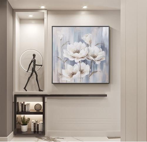 Tranh treo tường, những bông hoa tỏa hương sắc