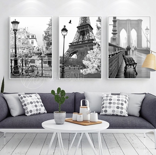 Thành phố Paris BW