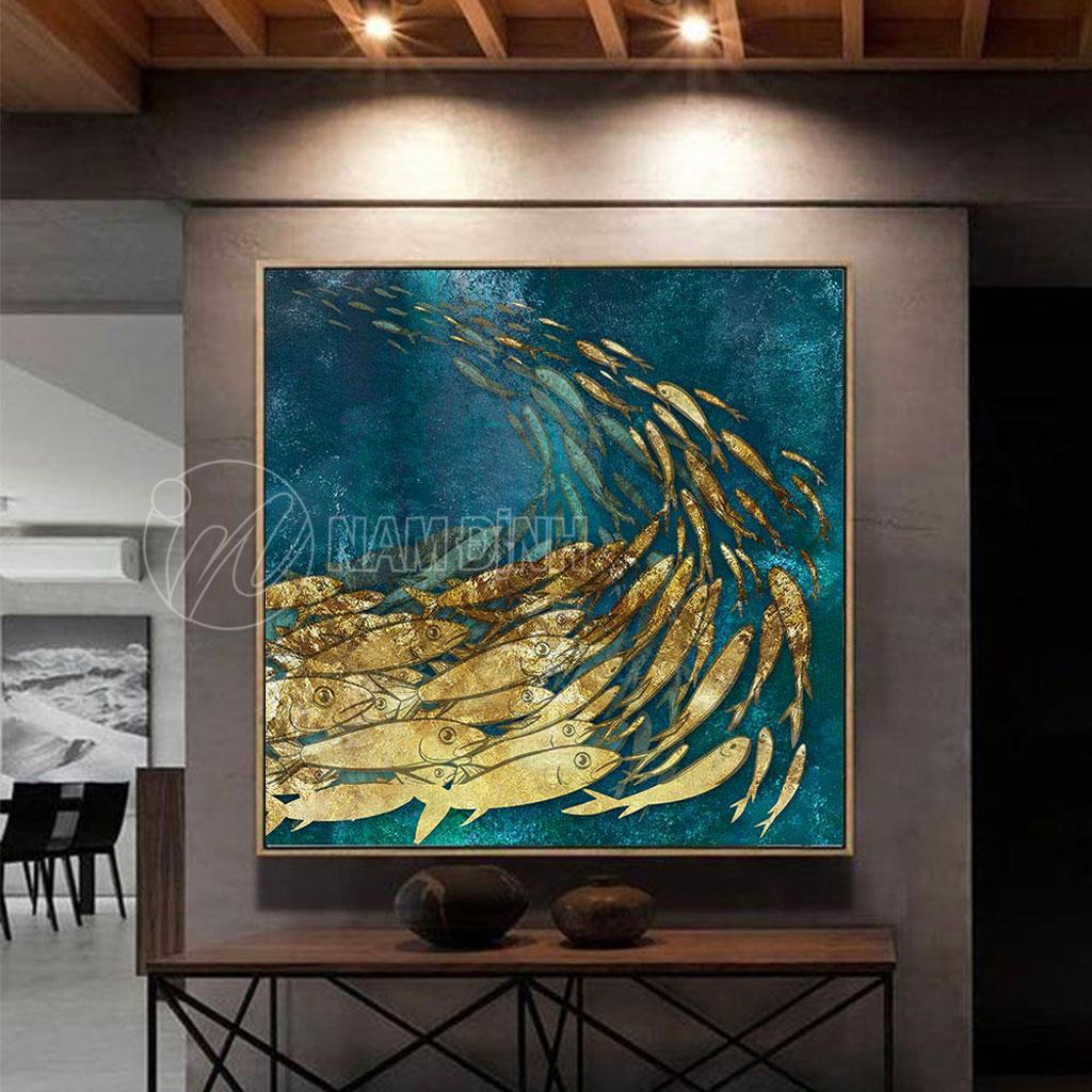 Đàn cá vàng