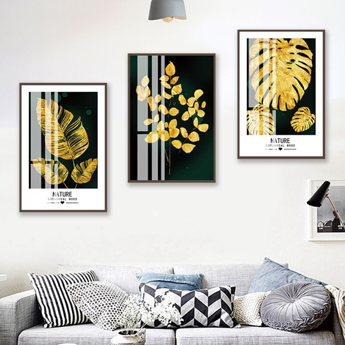 Bộ lá cây vàng