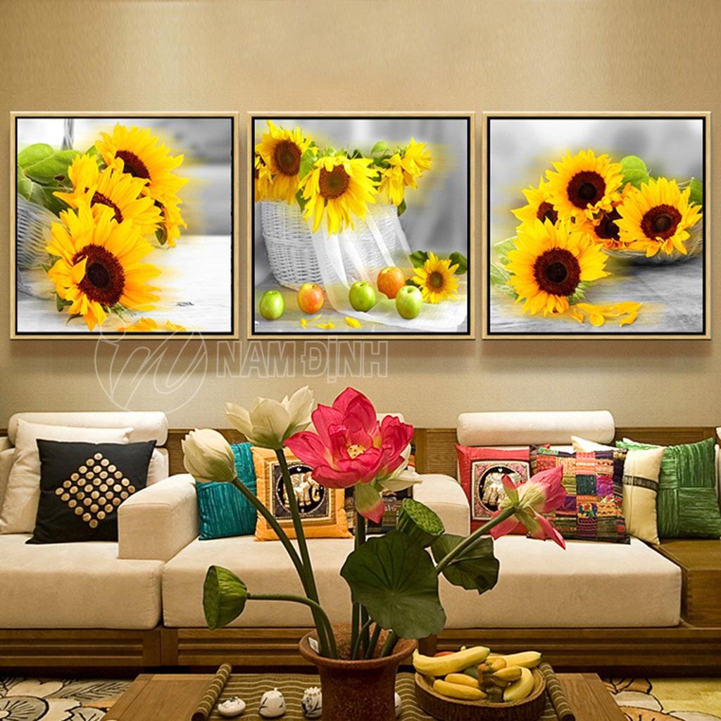 Bộ tranh hoa hướng dương