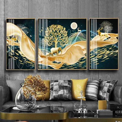 Phong cảnh rừng vàng