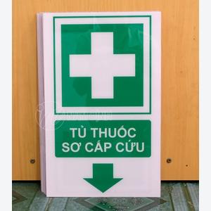 Bảng hiệu chỉ dẫn tủ thuốc