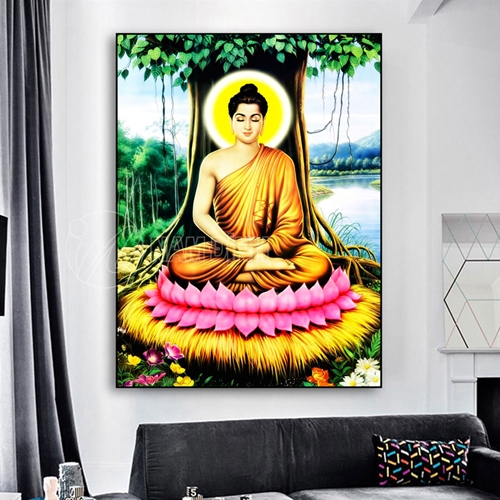 Phật thiền gốc cây
