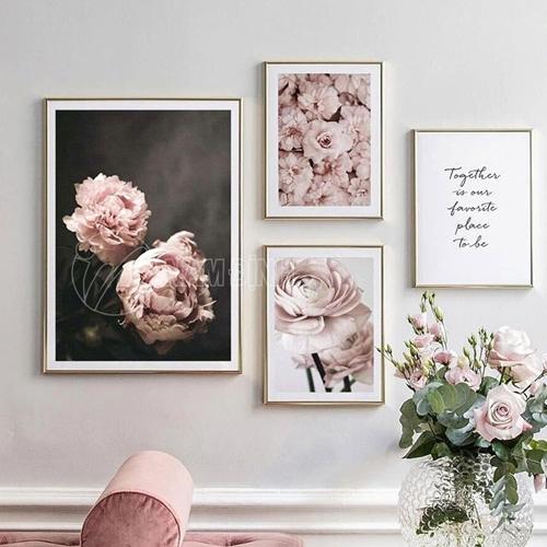 Tranh bộ hoa hồng