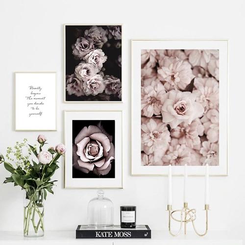 Bộ hoa và chữ