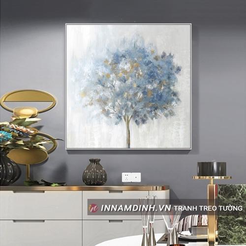 Bức tranh cây trừu tượng