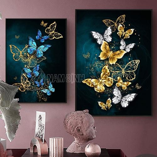 Đàn bướm vàng xanh