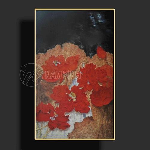 Hoa sen đỏ