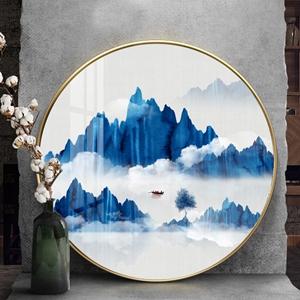 Tranh tròn, tranh sơn thủy hữu tình