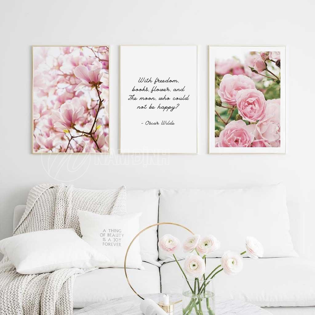 Hoa lan và hoa hồng
