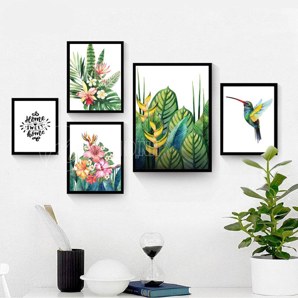 Hoa lá cây nhiệt đới