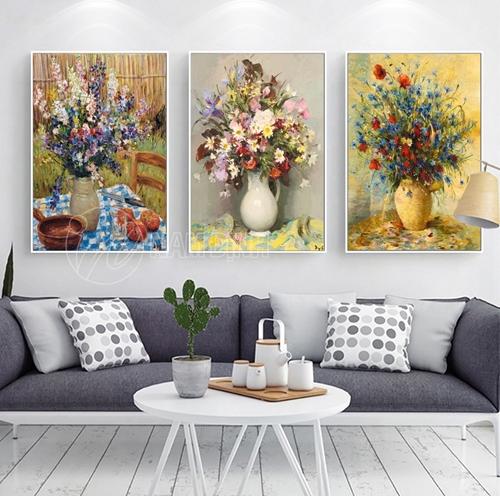 Lọ bình hoa màu sắc