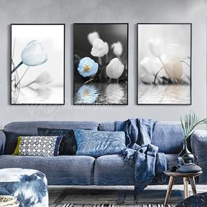 Bộ tranh hoa tuylip