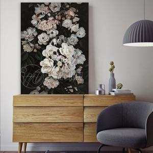 Bức tranh hoa hồng