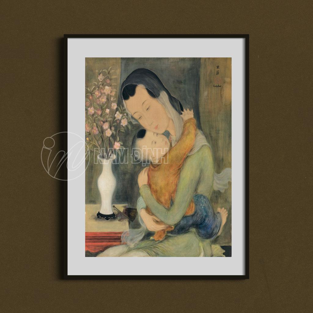 Mẹ và bé - Lê phổ